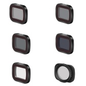 Magnetic Lens Filter Kit Compatible with DJI Pocket 2 OSMO Pocket Camera Optical Glass Multi Coated Filters 6-Pack (ND8/ ND16/ ND32/ ND64/ MCUV/ CPL)