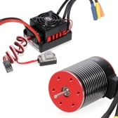 3650 4500KV Brushless Motor and Hobbywing WP-10BL60 60A ESC Waterproof Combo(type-1)