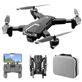 LS-25 5G WIFI FPV GPS 4K Cámara RC Drone Cámara dual con bolsa de almacenamiento