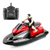 809 2.4Ghz RC Motorboat RC Boat High Speed Remote Control Boat for Pools Lakes Waterproof Toy for Kids Boys and Girls