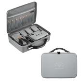 Estuche portátil impermeable de PU compatible con DJI Air 2S y control remoto (el dron y los accesorios NO están incluidos)