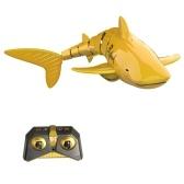 Mini RC Shark Juguete de control remoto Juguete de natación Submarino RC Barco Barco de carreras eléctrico Juguete de parodia