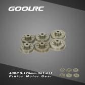 GoolRC 48DP 3,175 mm 36T 37T 38T 39T 40T 41T pignone ingranaggio motore Combo Set per RC auto spazzolato motore Brushless