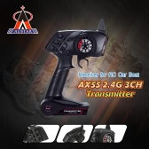 Original AUSTAR AX5S 2.4G 3CH AFHS  Radio Remote Control Transmitter with Receiver for RC Car Boat