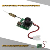 Mini 5.8G 200mw 800TVL Wide Angle 170 Degree FPV Camera NTSC for QAV250 QX80 QX90 QX110 Blade Inductrix FPV Racing Quadcopter