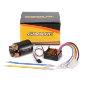 GoolRC 540 55T Brushed Motor with 60A ESC Combo for 1/10 Axial SCX10 RC4WD D90 RC Crawler Climbing Car
