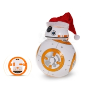 BB-8 2.4GHz Star Wars RC Robot Ball - Christmas Version