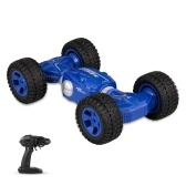 1/16 2.4G 4WD Carro doble doble cara de transformación uno RC Stunt Car