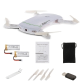 LDIRC RC102 Wifi FPV 0.3MP Cámara Altitude Hold Plegable Mini Selfie RC Drone Quadcopte con 1 batería extra