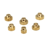 ZD Racing M0.6 15T 19T 21T 23T 24T 25T Brass Metal Pinion Motor Gear for 1/10 RC Buggy Car Monster Truck