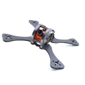 GEPRC GEP LX4 ONE Leopard 195mm X-Type 4in Carbon Fibre FPV Racing Drone Quadcopter Zestaw ramek z XT60 Power Distributor