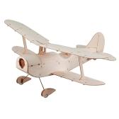 コペルニクスバルスウッド296mmウィングスパン複葉機ワーバード機ライトウッド飛行機キットEPS7ブラシ付きモーター5030プロップ