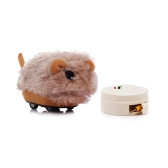 Infrared Remote Control Cute Electronic Hamster Plush Stuffed RC Toy Gift for both Girls and Boys