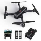 MJX B4W 5G Wifi FPV Brushless GPS RC Drone with 2K Camera Single-axis Gimbal with 2 Battery Handbag