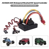 AX-D60A 60A Waterproof Brushed ESC Speed Controller for 1/10 RC Car Off-road Truck RC Boat 2S LiPo 6-8S NiMh Battery