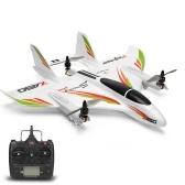 WLtoys XK X450 RC Avião Planador RC Aeronaves de Asa Fixa com 3 Modelos 2.4G 6CH 3D / 6G Helicópteros RC Decolagem vertical RTF