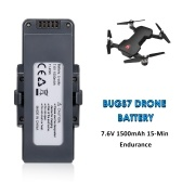 7.6V 1500mAh Lipo Replacement Battery Modular Battery for RC Quadcopter for MJX Bugs 7 B7 RC Drone
