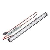 Barra luci a LED RC 147mm / 5,8 pollici Lampada da tetto in metallo Lampada da tetto Luce da 50 LED