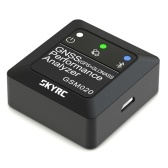 SKYRC GNSS GSM020 Performance Analyzer for RC Car Airplane Helicopter FPV Racing Drone G-force Measurement / Max Speed / Average Speed / Distance / High and Vertical Velocity GPS RC Toy Speedmeter