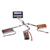 3 em 1 bateria 7.4 v conexão de carregamento Drone cabo 2S para JJRC H16 X 6 WLtoys V262 V666 A959 A979 V912 V913 K120 SYMA X8C X8W X8G RC