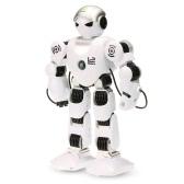 LE neng ZABAWKI K1 inteligentny programowalny Humaniod 2.4G Robot zdalnego sterowania z Strzelaj muzyki tanecznej Arm-swing Function