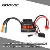 GoolRC impermeabile 60A Brushless ESC regolatore di velocità elettrica con 5.8V / 3A BEC per 1/10 RC Auto