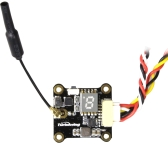 Turbowing Cyclops TX17128 0/25/200mW Switchable 5.8G 48CH Mini FPV VTX Video Transmitter for 90 100 130 Racing Quadcopter