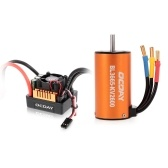 OCDAY BL3665 2600KV Sensorless Brushless Motor with 80A ESC for 1/10 RC Crawler Traxxas Redcat HSP Car Truck