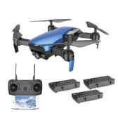 Dongmingtuo X12高度3つの電池を備えたRC Quadcopter