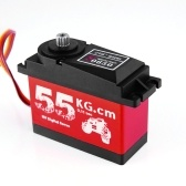 CYS-S0650 Large 55Kg HV High Torque Metal Gear Digital Servo para RC Car Boat Airplane HPI Rovan Km Baja 5B 5T