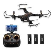 VISUO XS812 2.4G GPS 5G Wifi RC Drone con 3 batterie