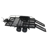 Trailer Car Heavy Duty Trailer Cargo Carrier Kit in metallo