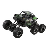 JJR / C Q51D 1:12 RC Car Off-road 2.4GHz 6WD camion militare con faro