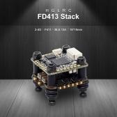 HGLRC FD413 STACK в сочетании с контроллером полета 2-4S F411 16x16 и ESC FD13A BLS 4in1 для гоночного дрона FPV