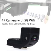 SG906 4K Camera w/ 5G WiFi 120°Wide Angle Lens for CSJ-X7 Beast SG906 X193 RC Drone