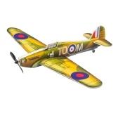 DWH E28 Hurricane RC Airplane Outdoor Flight Toys Modello di assemblaggio fai-da-te (senza batteria)