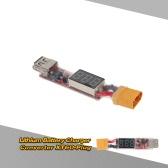 2-6S litio batteria caricabatteria Converter XT60-spina con tensione Display per cellulare