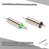 1 Pair 0615 6*15mm CW/CCW Coreless Brushed Motor with Micro-JST-1.25 Plug for Blade Inductrix BLH8700 BLH8580 FPV Micro Indoor Drone RC Quadcopter