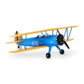 Original Unique PT-17 Biplane 1200mm Wingspan EPO Fixed-wing Aircraft PNP Version RC Airplane(with ESC, Motor, Servo)