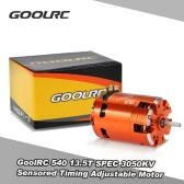 GoolRC 540 13.5T SPEC 3050KV Brushless Sensored rozrządu Regulacja silnika dla samochodów 1/10 RC