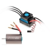 BL3656 3200KV Brushless Motor and 2-3S 60A Brushless Waterproof ESC for 1/10 RC Car Off-road Truck HSP TRAXXAS Vehicle