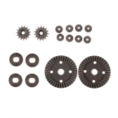 12T 15T 24T 38T Motor Gear in metallo Differenziale Pignone Set ingranaggi principale per WLtoys 1/18 A949 RC Fuoristrada Buggy Monster Truck Car