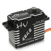 JX BLS-HV7146MG 46kg HV High Torque Brushless Digital Metal Servo Waterproof for RC Car Boat Robot Helicopter HPI HSP