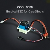 Radiolink COOL 9030 90A Brushed ESC Electric Speed Controller for RC Car RC Boat Crawler Drifting Car Tractor Truck Fishing Boats