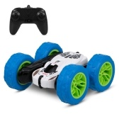1/28 2.4GHz RC Stunt Car RC Car High Speed Tumbling Crawler Vehicle 360 Degree Flips Double Sided Rotating Tumbling with Cool Light