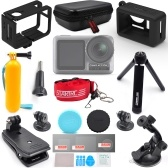 STARTRC Expansion Kit Camera Mount Carry Case Suction Cup for DJI OSMO Action Camera