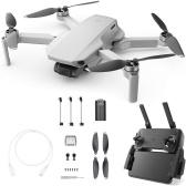 DJI Mavic Mini 4KM FPV Drone com Câmera 2.7K Gimbal de 3 Eixos 30mins Tempo de Vôo 249g Ultraleve GPS Quadricóptero RC