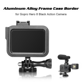 Frame Case Border Protective Cover Aluminum Alloy Housing Mount Base for Gopro Hero 8 Black Action Camera Protection Accessory