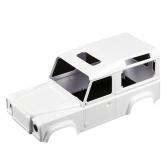 Kit de carcasa de cuerpo duro de 280 mm Compatible con 1/10 D90 Axial SCX10 4WD Land Rover Defender 90 RC Car Off-road Crawler Versión DIY