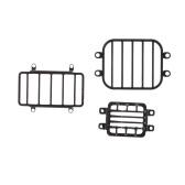 6 шт. Защита лампы головной свет боковой свет задний фонарь защитный чехол совместим с 1/10 моделированием радиоуправляемого автомобиля TRAXXAS TRX-4 G500 Trx-6 G63